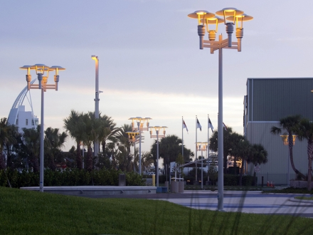 Turtle-Friendly Lighting  - Port Canaveral