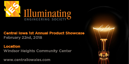 Central Iowa IES 1st Annual Product Showcase