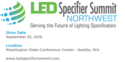 LED Specifier Summit Northwest 2018