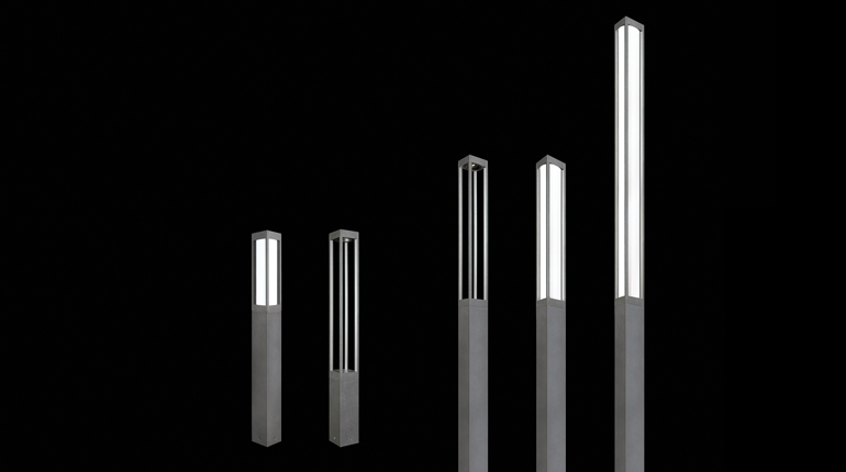Luminis Introduces Lumiquad Family of Bollards and Columns