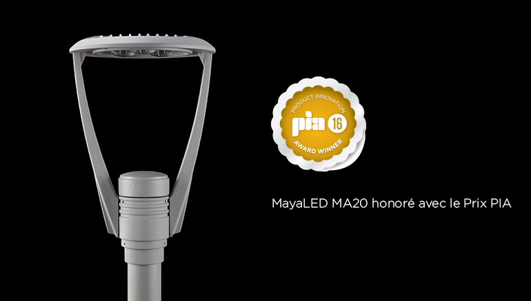 Luminis´ MayaLED MA20 Wins Product Innovation Award from Architectural SSL Magazine