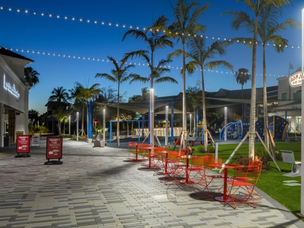 Breathing new life and illumination into a Florida shopping center