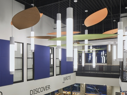 Illumination for a safe, secure and inspirational learning environment - Ridgefield