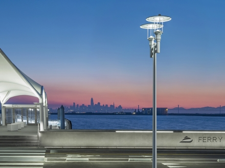 Waterfront lighting design pays tribute to illustrious art deco past while safeguarding the environment - Alameda