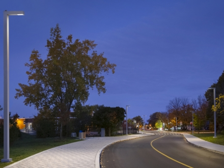 Community safety and a nod to festivals for street lighting on city's main thoroughfare - Saint-Bruno-de-Montarville