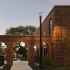 Outdoor illumination enhances architecture of historic Chicago residential complex