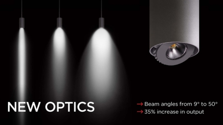 Luminis Introduces New Optics Module for Architectural Lighting Products