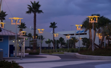 Turtle-Friendly Lighting in Port Canaveral's Newest Large-Ship Terminal