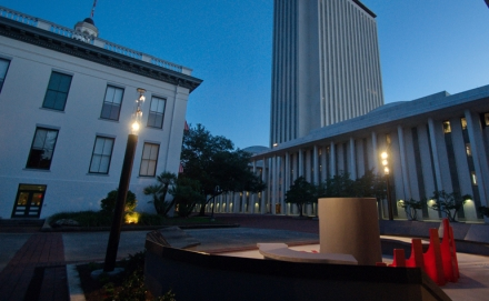 Lighting the Legacy of the Florida Fallen Firefighters Memorial